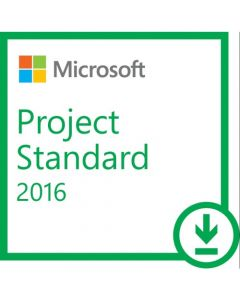 Microsoft Project 2016 Standard Box Pack 1 PC Project Management Download PC